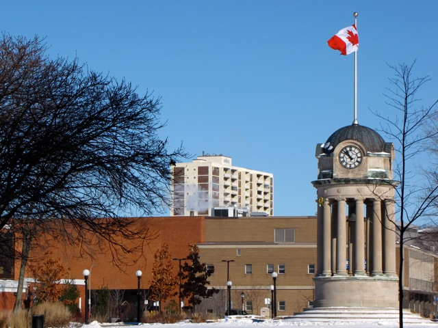 Kitchener City Hall Clock Tower